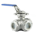 3 Way Stainless Steel Ball Valve