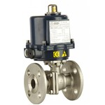 ANSI 150 Stainless Steel Flanged Electric Fire Safe Ball Valve