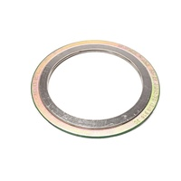 Cr Spiral Wound Gasket Made Of Cast Steel, 316 Stainless & Graphite